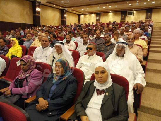 أهالي العريش من المؤتمر الجماهيري بشمال سيناء (7)