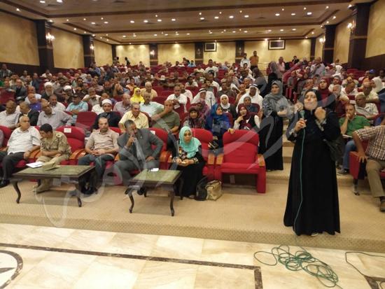 أهالي العريش من المؤتمر الجماهيري بشمال سيناء (10)