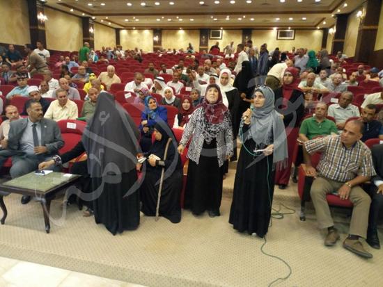 أهالي العريش من المؤتمر الجماهيري بشمال سيناء (11)