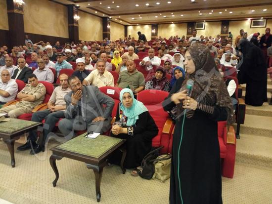 أهالي العريش من المؤتمر الجماهيري بشمال سيناء (14)