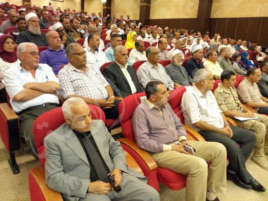 أهالي العريش من المؤتمر الجماهيري بشمال سيناء (1)