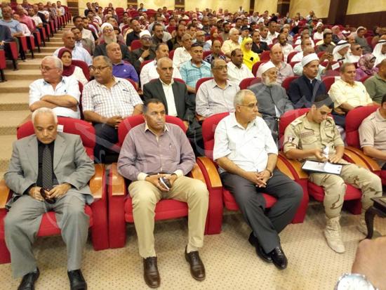 أهالي العريش من المؤتمر الجماهيري بشمال سيناء (4)