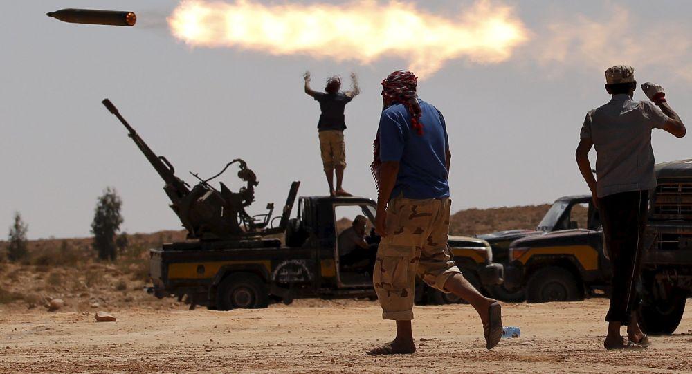 عناصر إرهابية في ليبيا