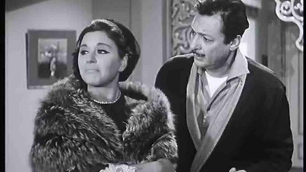 سعاد حسنى ورشدى أباظة من فيلم غروب وشروق