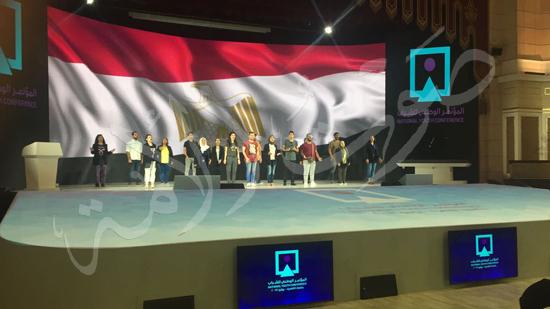 الاستعدادات لمؤتمر الشباب بجامعة القاهرة (2)