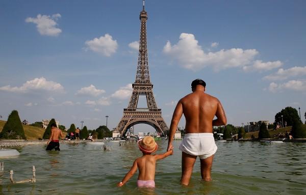 موجات الحرارة فى فرنسا