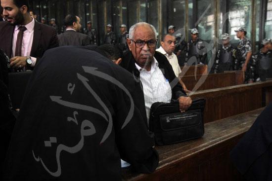 الحكم علي المتهمين في قضية فض رابعة  (11)
