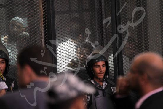 الحكم علي المتهمين في قضية فض رابعة  (6)