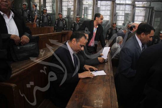الحكم علي المتهمين في قضية فض رابعة  (12)