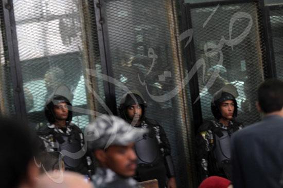 الحكم علي المتهمين في قضية فض رابعة  (2)