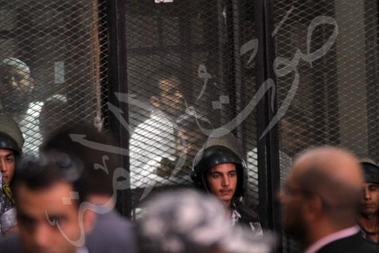 الحكم علي المتهمين في قضية فض رابعة  (5)