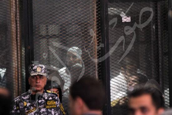 الحكم علي المتهمين في قضية فض رابعة  (4)