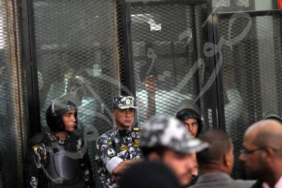 الحكم علي المتهمين في قضية فض رابعة  (15)