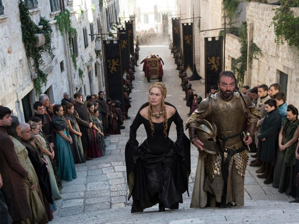 مشهد من مسلسل Game of Thrones (2)