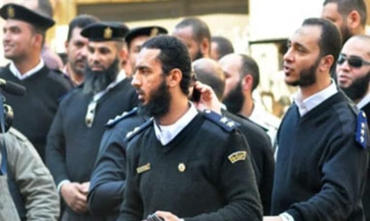 ضباط الشرطة الملتحين
