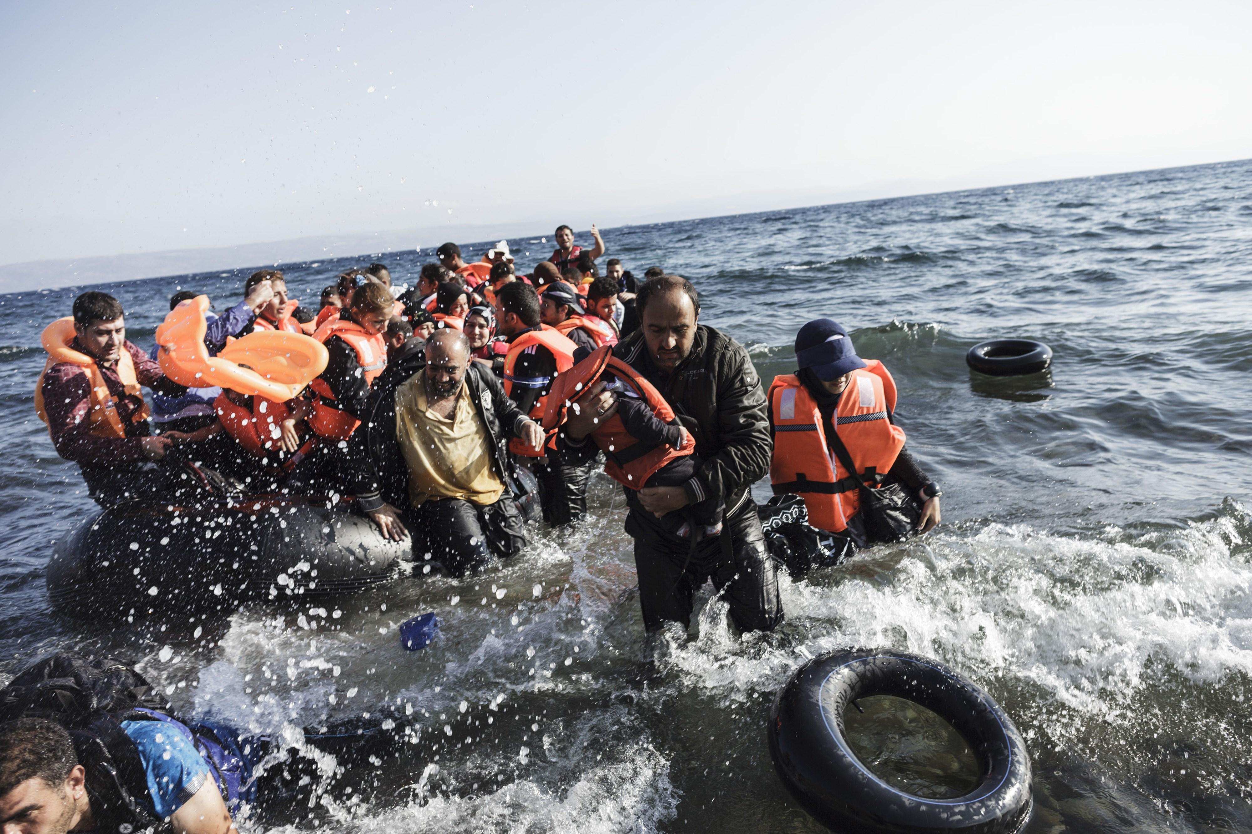 1500 مهاجر فقدوا ارواحهم فى البحر