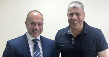 أحمد شوبير مع تامر مرسى رئيس مجلس إدارة إعلام المصريين