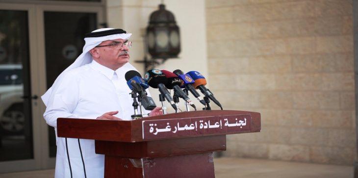رئيس لجنة إعمار غزة محمد العماري