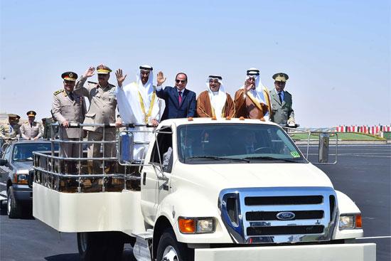 افتتاح قاعدة محمد نجيب