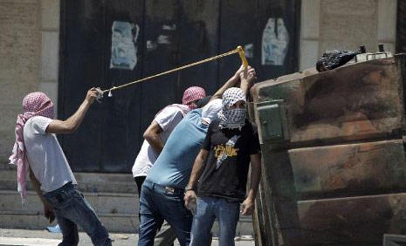 صورة أرشيفية عن اشتباكات فلسطين