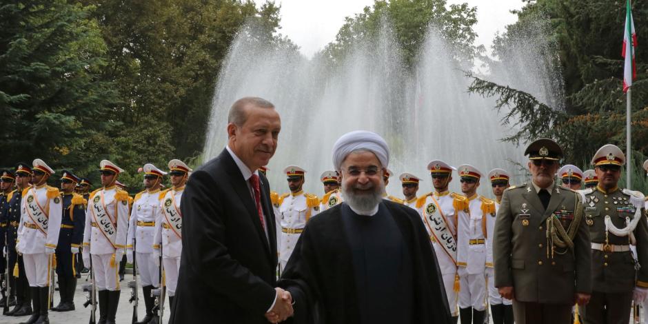 الرئيس الإيراني ونظيره التركي