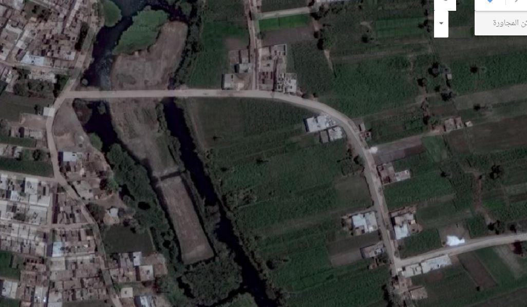 طريق جزيرة الشيخ تمى