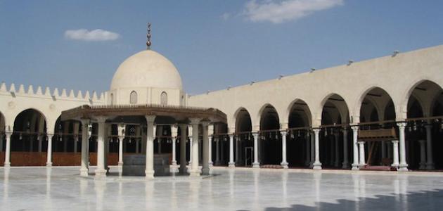 أين_يقع_مسجد_عمرو_بن_العاص