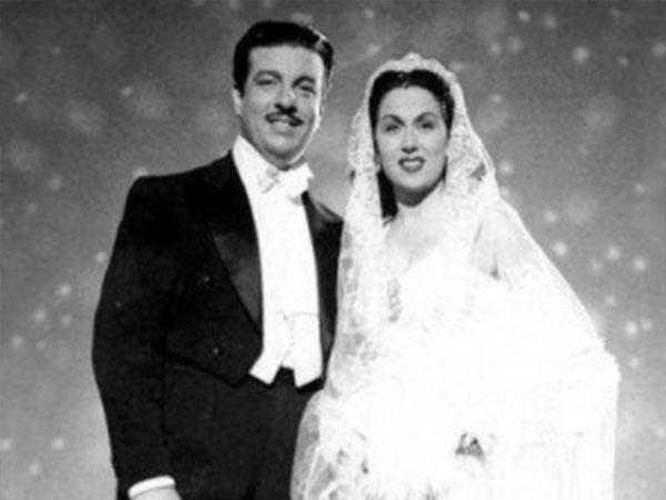 زواج ليلى مراد وانور وجدى