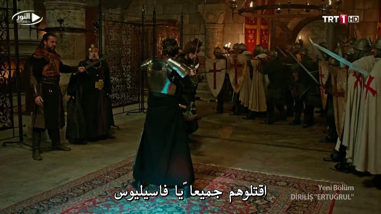 مشهد من مسلسل قيامة أرطغرل