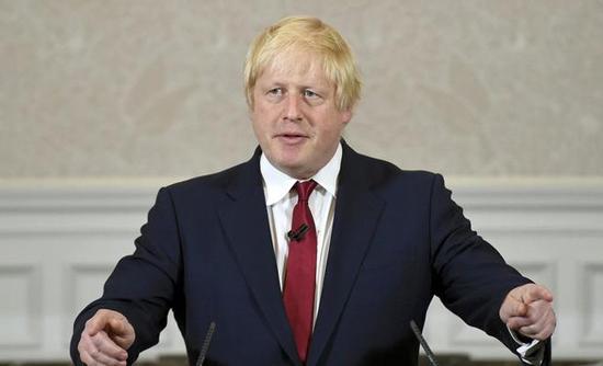 وزير الخارجية البريطاني السابق بوريس جونسون copy