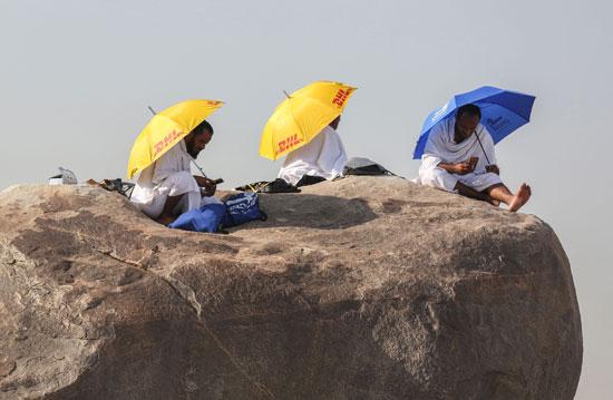 الحجاج على جبل عرفات (5)