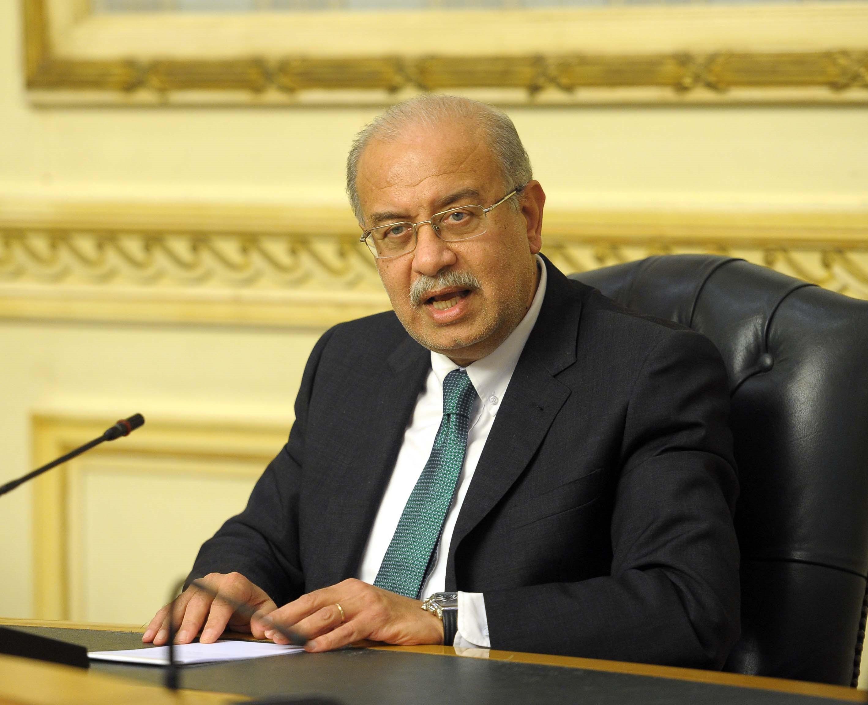 المهندس شريف إسماعيل رئيس الوزراء السابق