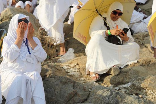 الحجاج على جبل عرفات (1)