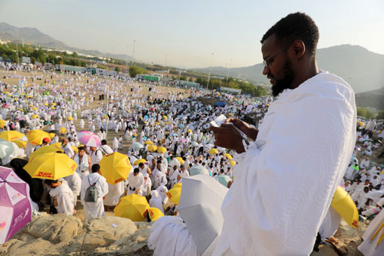 الحجاج على جبل عرفات (4)