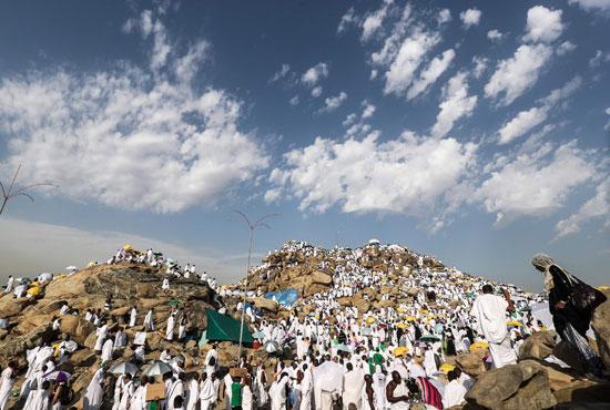 الحجاج على جبل عرفات (7)