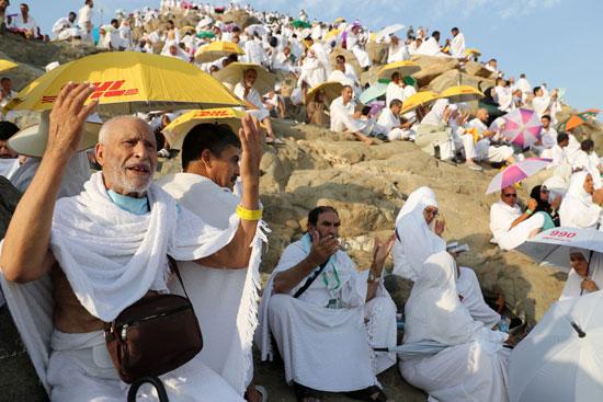 الحجاج على جبل عرفات (13)