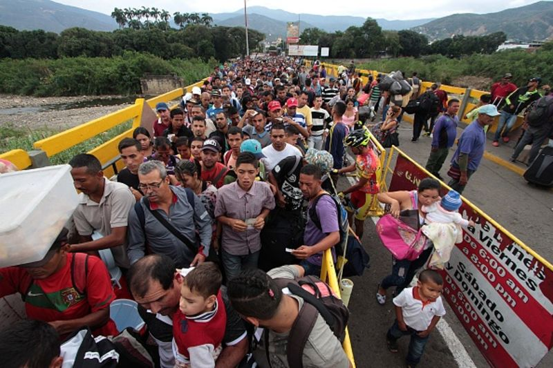 لاجئين فنزويلا