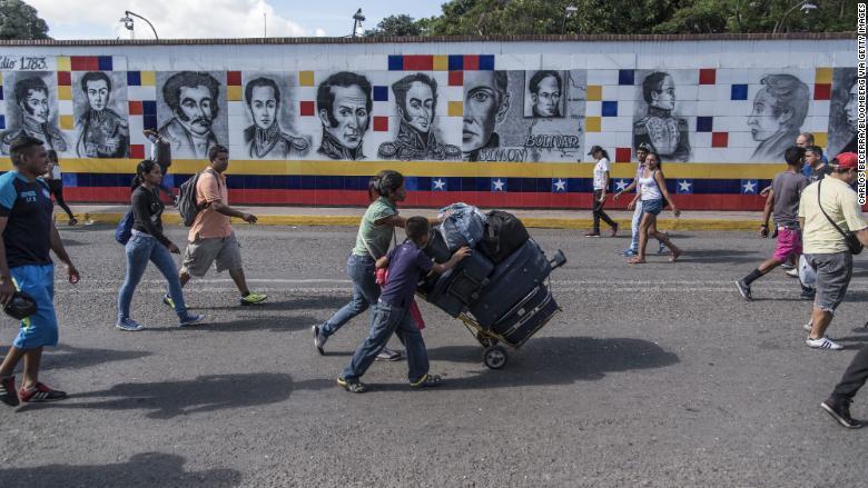 الهروب الكبير من فنزويلا