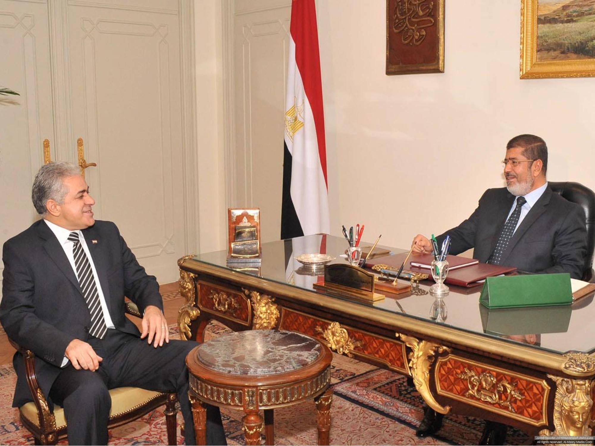 حمدين ومحمد مرسى