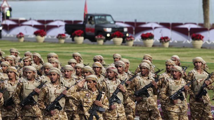 الجيش القطرى