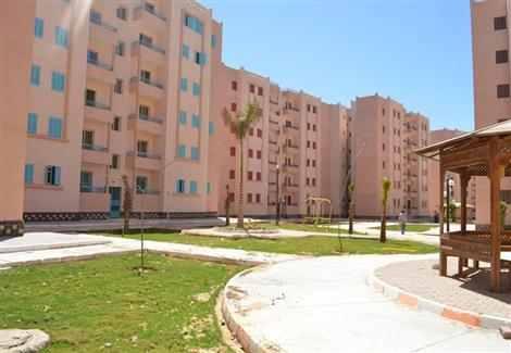 عمارات-الإسكان-الاجتماعي-بمدينة-قنا-الجديدة