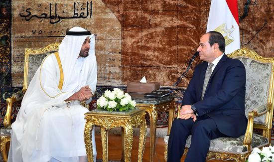 الرئيس عبد الفتاح السيسي والشيخ محمد بن زايد آل نهيان (6)