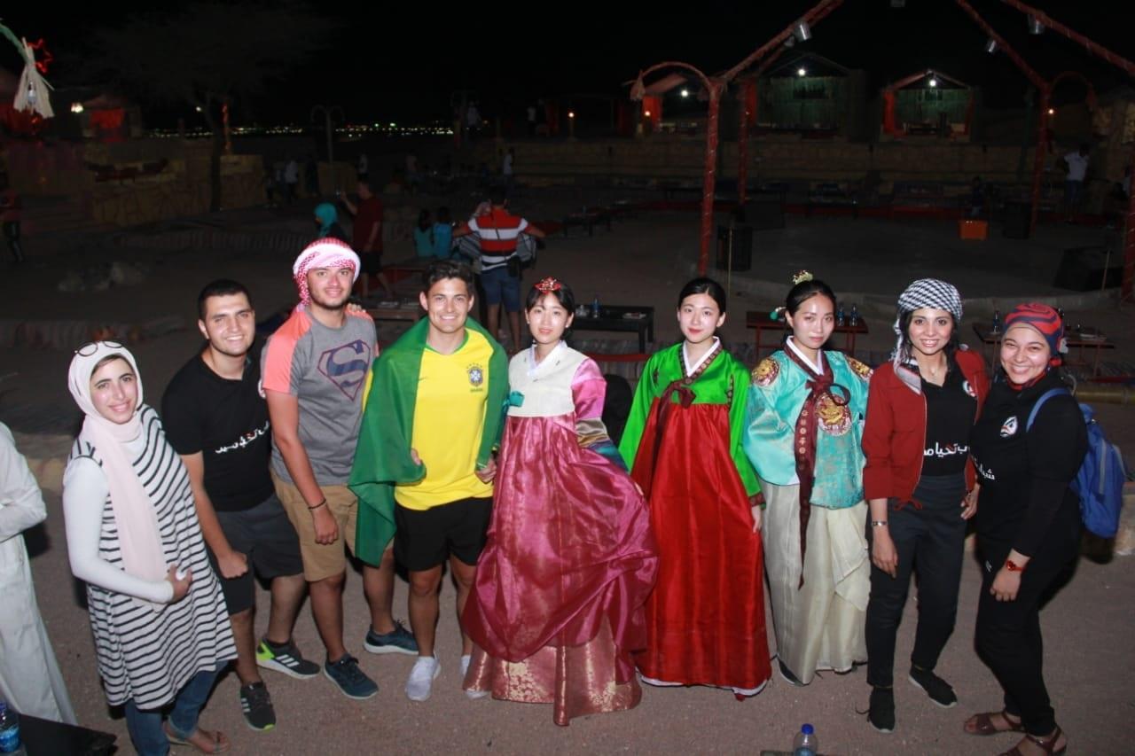 جانب من مبادرة شباب تحيا مصر