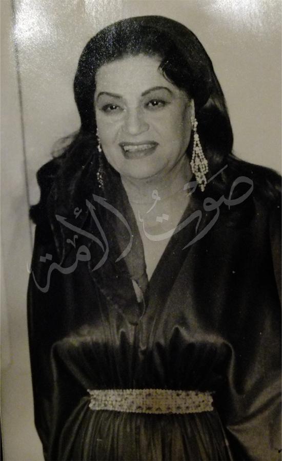 ابنة وحفيدة الفنانه الراحله عقيله راتب (9)