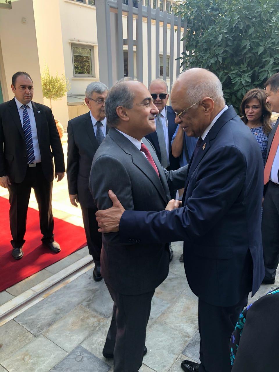 الدكتور على عبد العال في زيارته لقبرص (4)