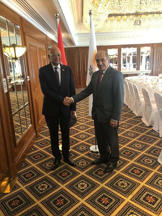 الدكتور على عبد العال في زيارته لقبرص (1)