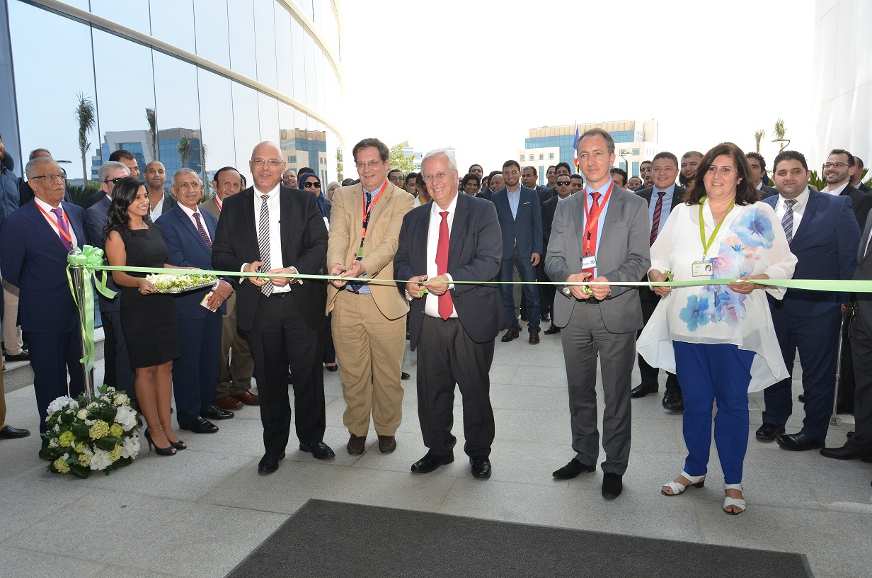 Photo3 - CEO during New Office Ribbon-cutting