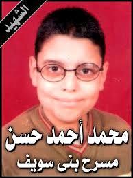 محمد أحمد حسن من شهداء الحادث