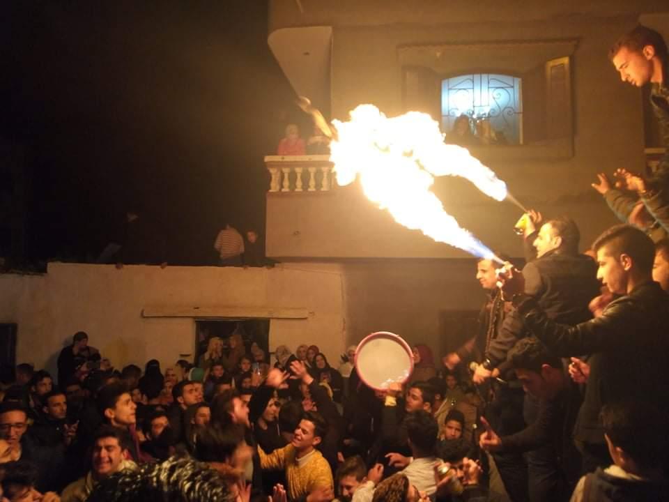 مسيرات فرح تجوب شوارع العريش احتفالا بفوز امين جودة بمقعد النواب (2)