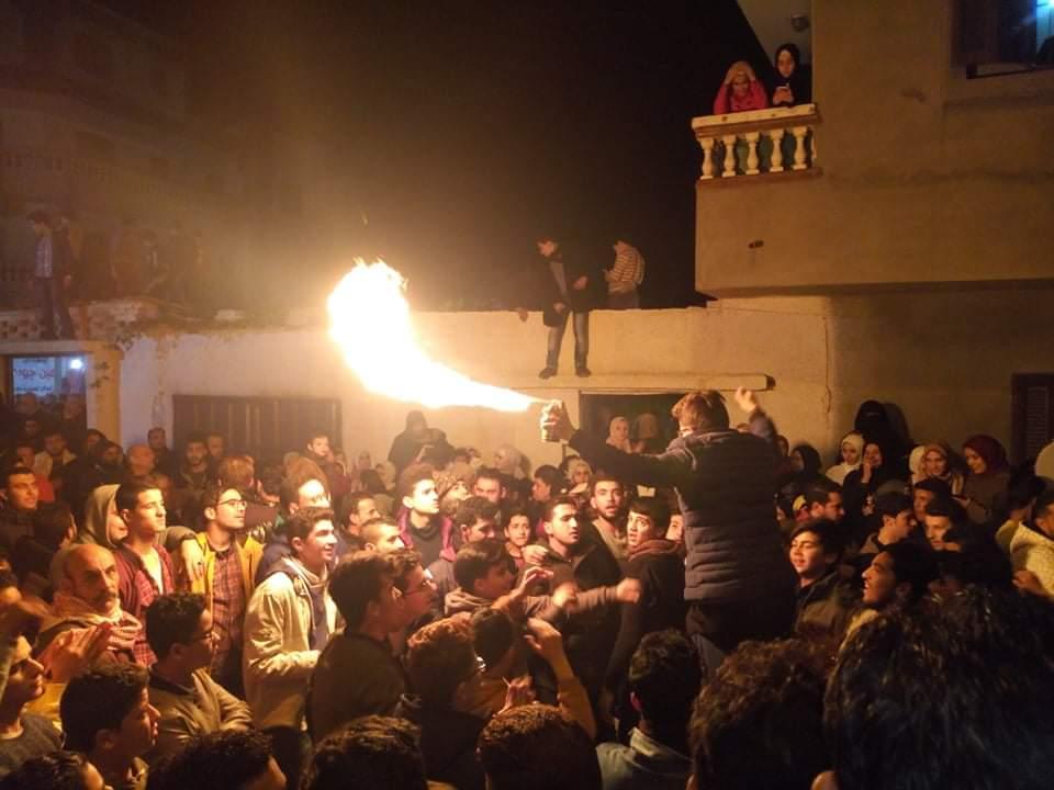مسيرات فرح تجوب شوارع العريش احتفالا بفوز امين جودة بمقعد النواب (4)